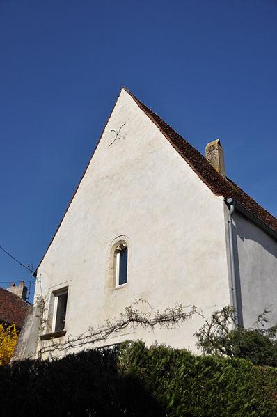 Photo du Monument Historique Prieuré situé à Pesmes