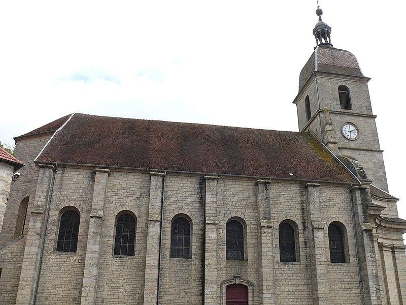 Photo du Monument Historique Eglise situé à Port-sur-Saône