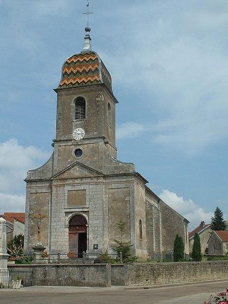 Photo du Monument Historique Eglise de Roche situé à Roche-et-Raucourt