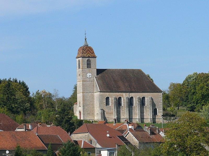 Photo du Monument Historique Eglise situé à Rupt-sur-Saône