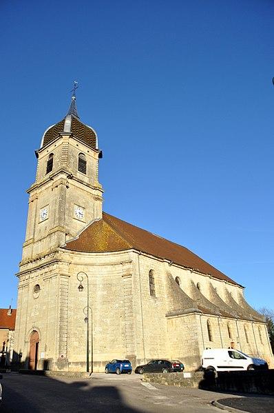 Photo du Monument Historique Eglise Saint-Martin situé à Scey-sur-Saône-et-Saint-Albin