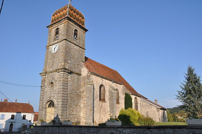 Photo du Monument Historique Eglise situé à Senoncourt
