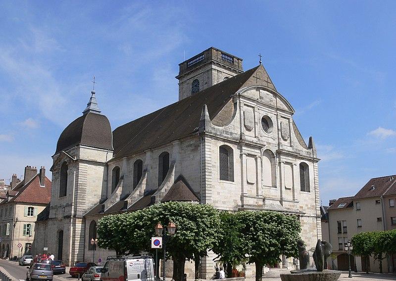 Photo du Monument Historique Eglise Saint-Georges situé à Vesoul