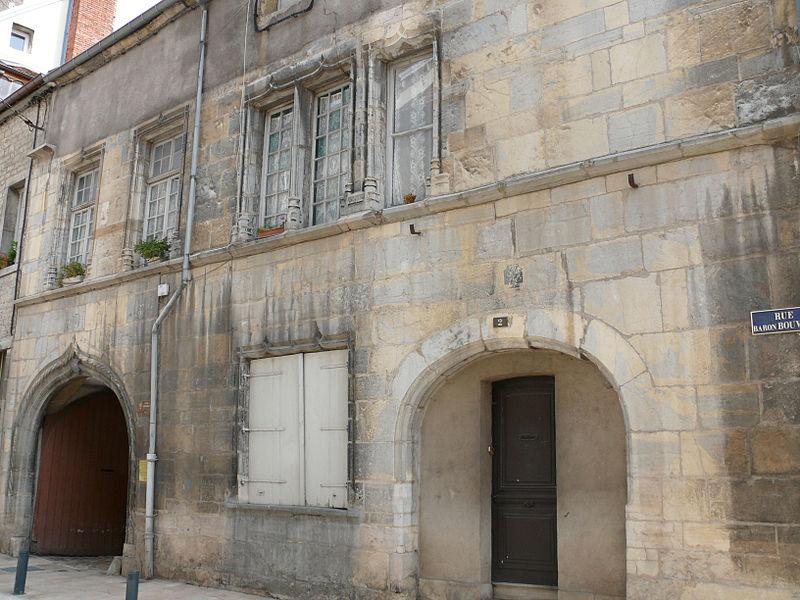 Photo du Monument Historique Maison situé à Vesoul