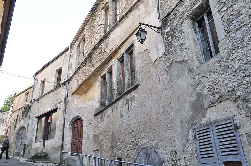 Photo du Monument Historique Maison du Trépot situé à Gray