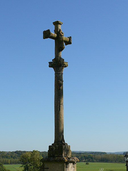 Photo du Monument Historique Croix monumentale situé à Rupt-sur-Saône