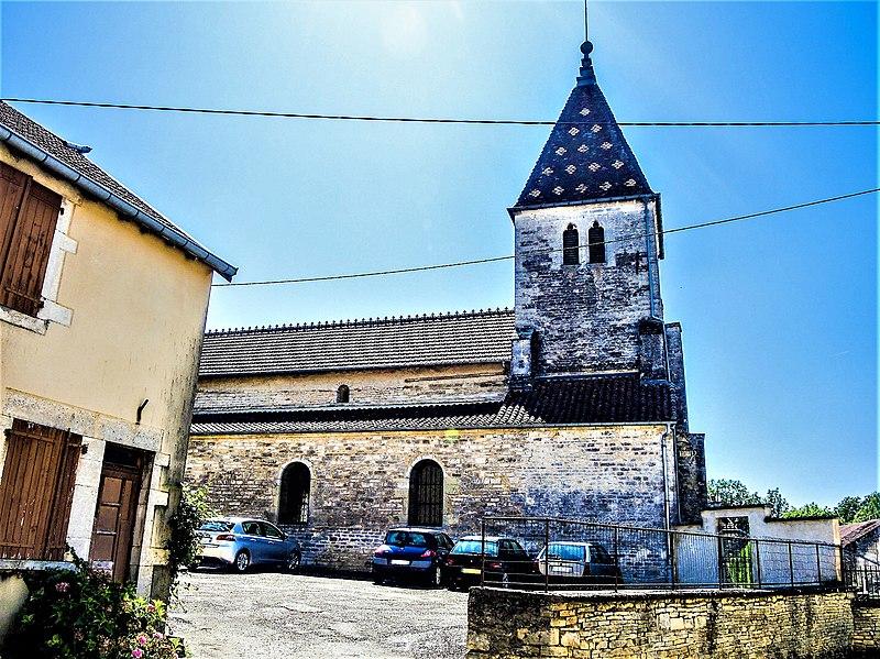 Photo du Monument Historique Eglise Saint-Christophe de Champlitte-la-Ville situé à Champlitte