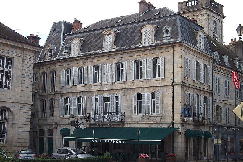 Photo du Monument Historique Hôtel Pétremand situé à Vesoul
