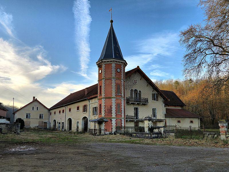 Photo du Monument Historique Ferme de Laine situé à Vy-lès-Filain