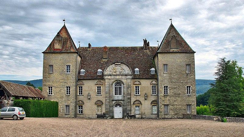 Photo du Monument Historique Parc du château de Buthiers situé à Voray-sur-l'Ognon