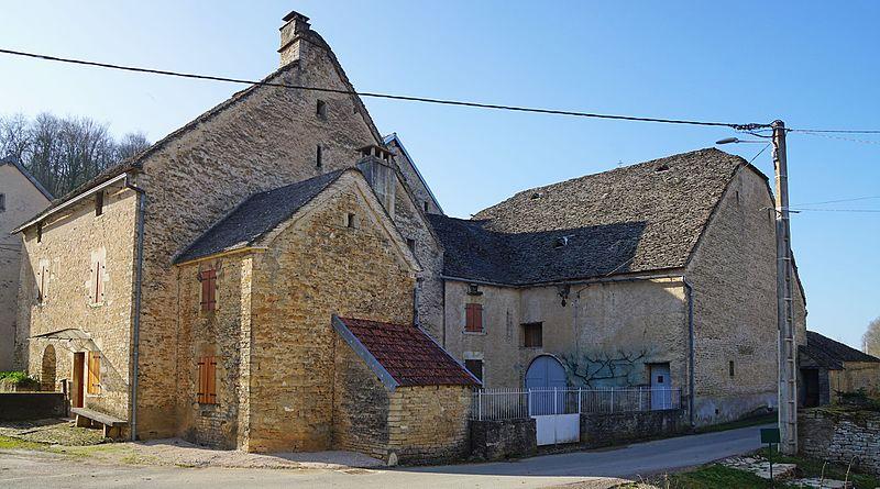 Photo du Monument Historique Ferme situé à Aillevans