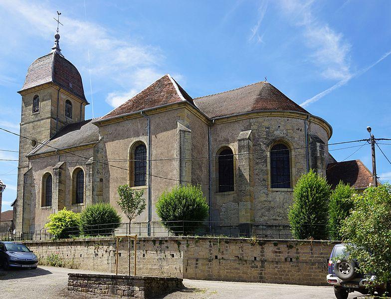 Photo du Monument Historique Eglise Saint-Pierre situé à Villers-lès-Luxeuil