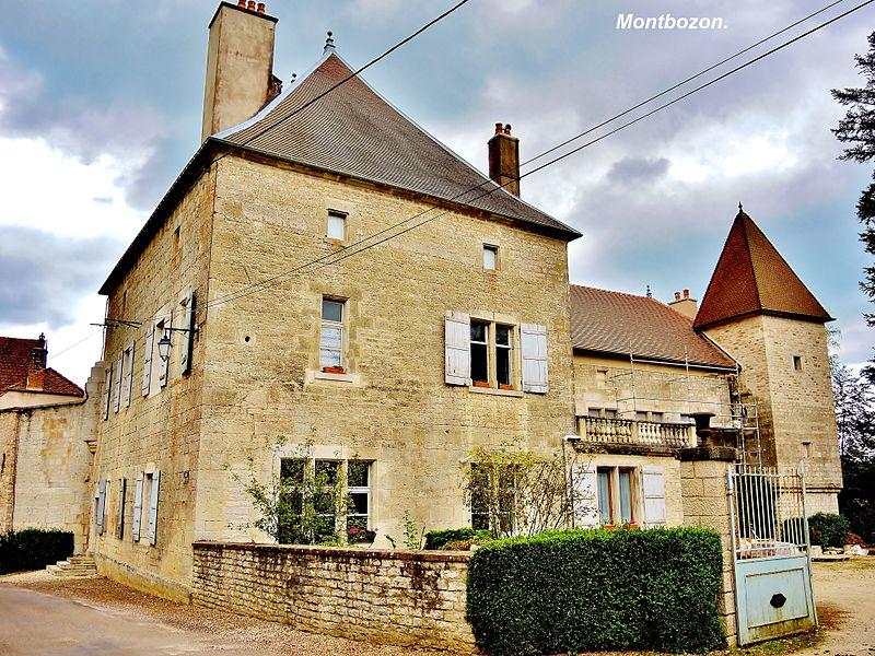 Photo du Monument Historique Ancienne maison Rousselot dite Maison Bouday situé à Montbozon