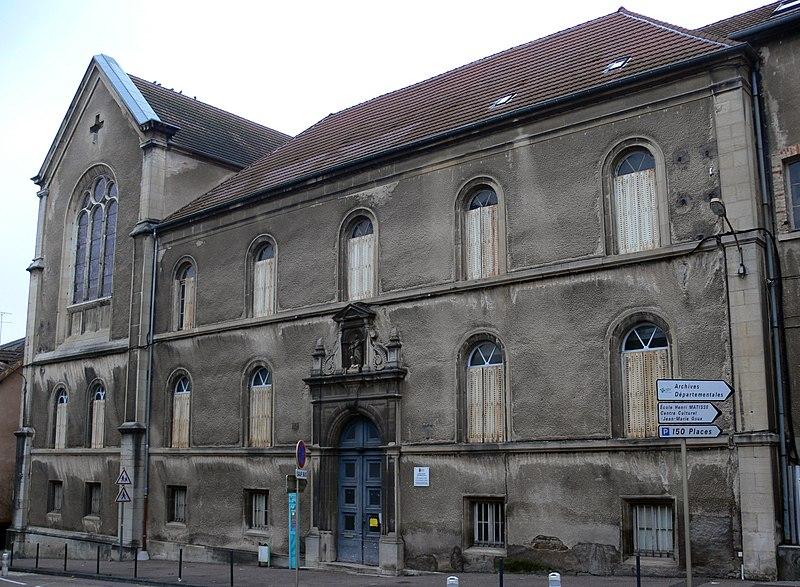 Photo du Monument Historique Collège de Marteroy situé à Vesoul