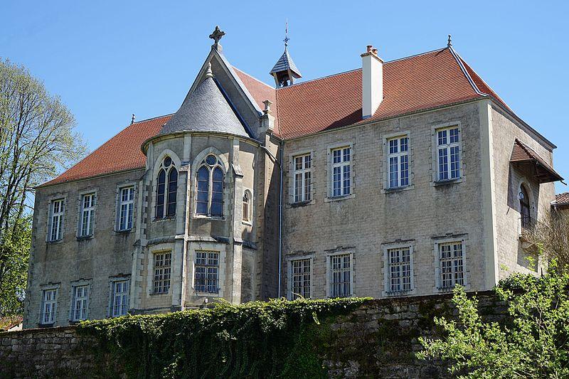 Photo du Monument Historique Hôpital de Grammont situé à Villersexel