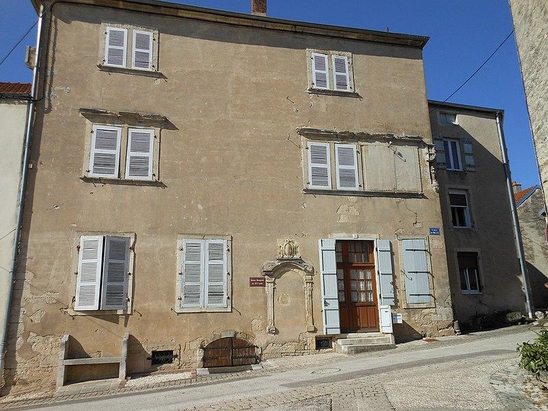 Photo du Monument Historique Maison situé à Champlitte