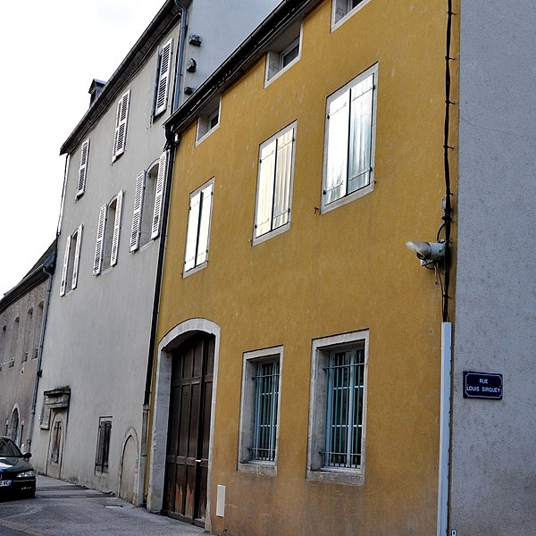 Photo du Monument Historique Ancien refuge de l'abbaye de Corneux situé à Gray