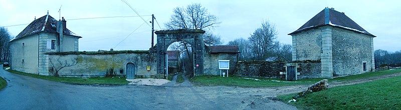 Photo du Monument Historique Ancienne abbaye cistercienne de Theuley situé à Vars