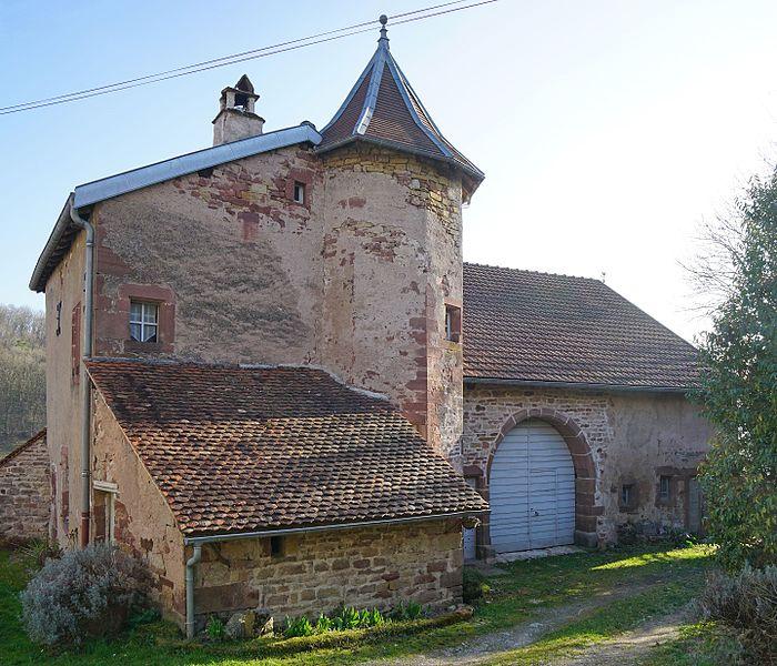 Photo du Monument Historique Maison Gaudy situé à Granges-le-Bourg