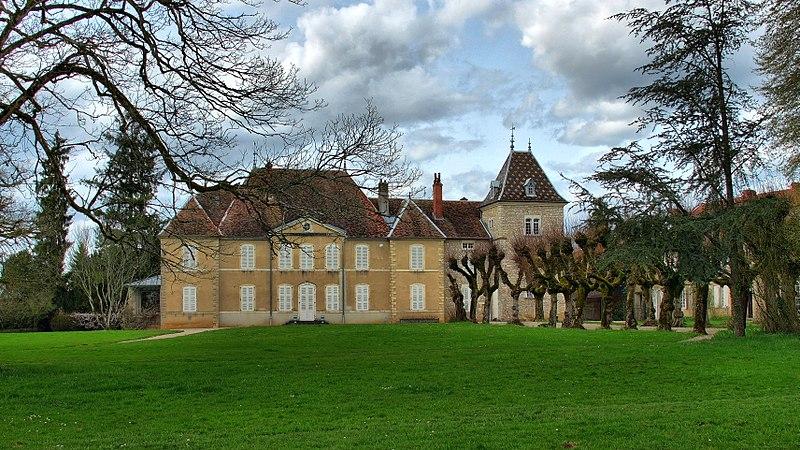 Photo du Monument Historique Château de Vregille situé à Vregille
