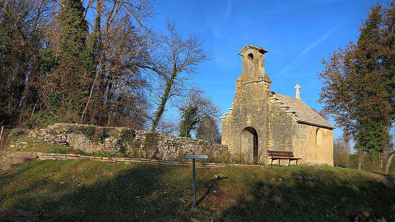 Photo du Monument Historique Chapelle Saint-Justin situé à Chambornay-lès-Bellevaux