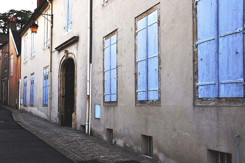 Photo du Monument Historique Hôtel dit hôtel Jobard situé à Gray