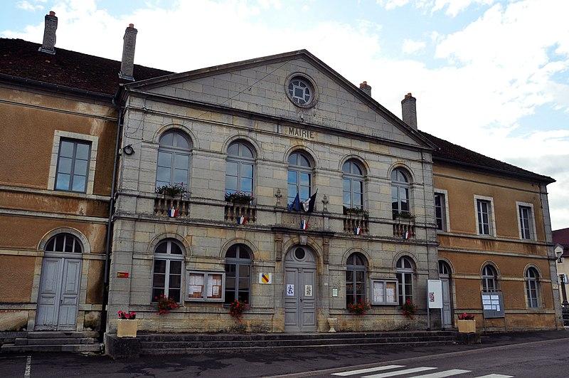 Photo du Monument Historique Ecole - Mairie - Justice de paix situé à Noroy-le-Bourg