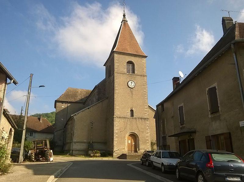 Photo du Monument Historique Eglise de la Décollation de Saint-Jean-Baptiste situé à Oiselay-et-Grachaux