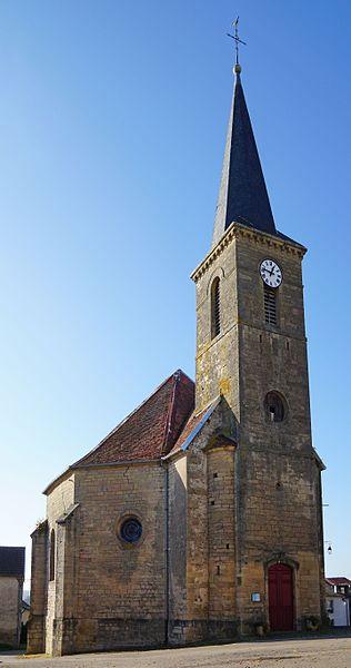 Photo du Monument Historique Eglise Saint-Léger situé à Neurey-en-Vaux