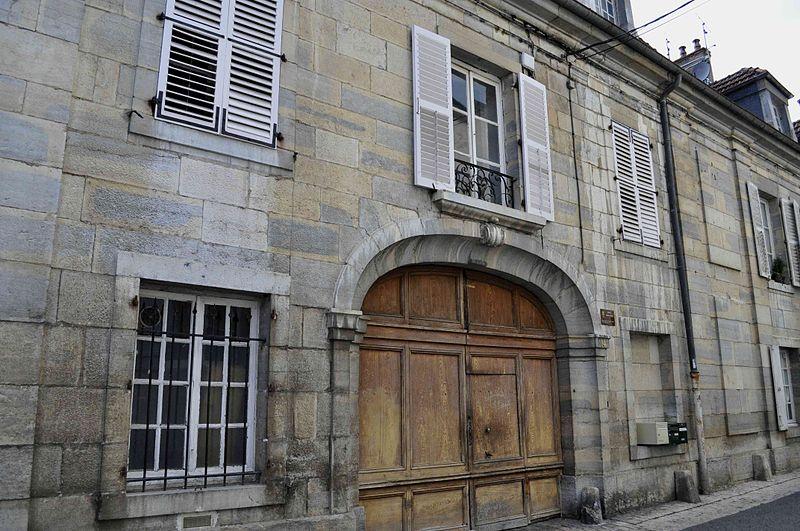 Photo du Monument Historique Hôtel dit de Simon Renard situé à Vesoul