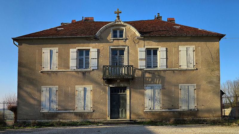 Photo du Monument Historique Presbytère situé à Bucey-lès-Gy