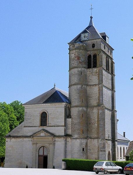 Photo du Monument Historique Eglise Saint-Christophe situé à Champlitte