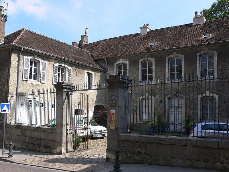 Photo du Monument Historique Hôtel Lyautey de Genevreuille situé à Vesoul