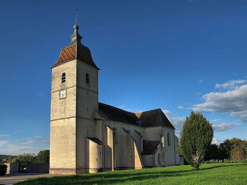 Photo du Monument Historique Eglise Saint-Maurice situé à Boult