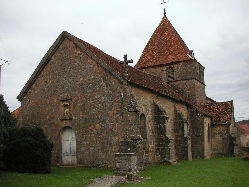 Photo du Monument Historique Eglise de la Nativité de Notre-Dame situé à Chauvirey-le-Châtel