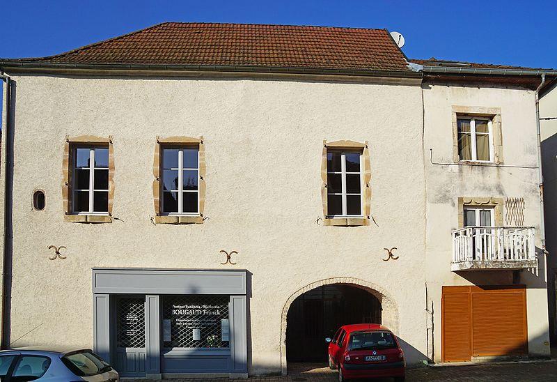 Photo du Monument Historique Maison situé à Villersexel
