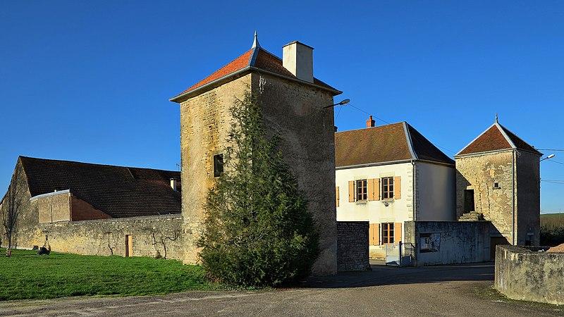 Photo du Monument Historique Ancienne maison forte, actuelle mairie situé à Cult