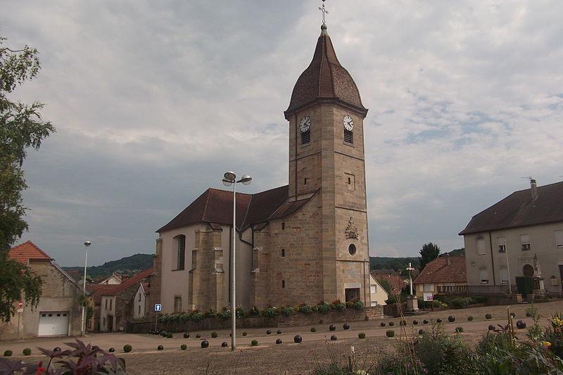 Photo du Monument Historique Eglise de l'Assomption situé à Noidans-lès-Vesoul