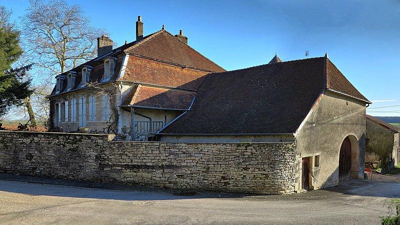 Photo du Monument Historique Maison situé à Motey-Besuche
