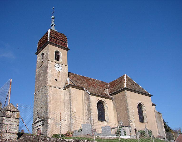 Photo du Monument Historique Eglise Saint-Mathias situé à Cromary