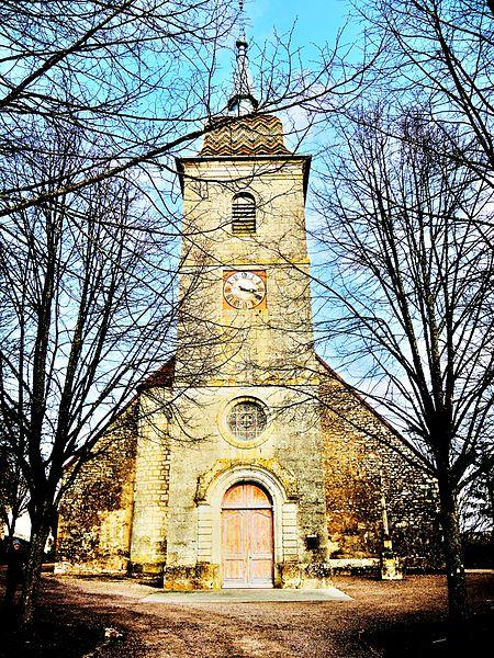 Photo du Monument Historique Eglise Saint-Pancrace situé à Ray-sur-Saône