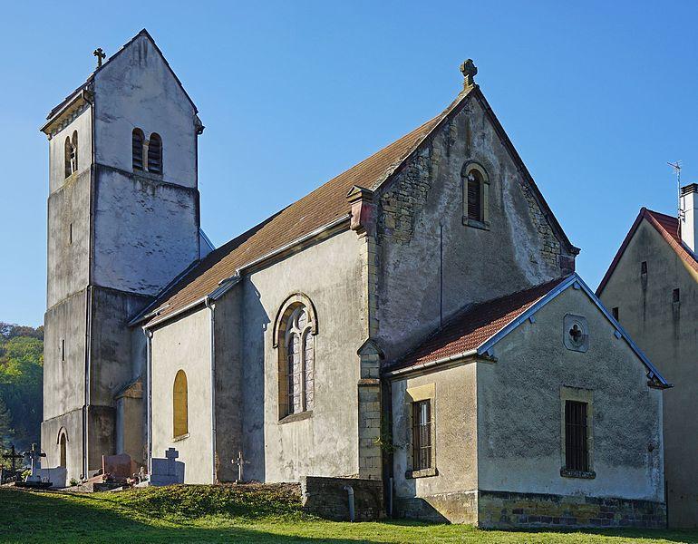 Photo du Monument Historique Eglise Saint-Eloi situé à Le Val-Saint-Eloi