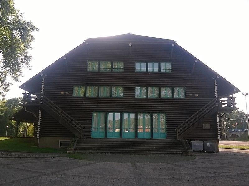 Photo du Monument Historique Auberge de la jeunesse situé à Port-sur-Saône