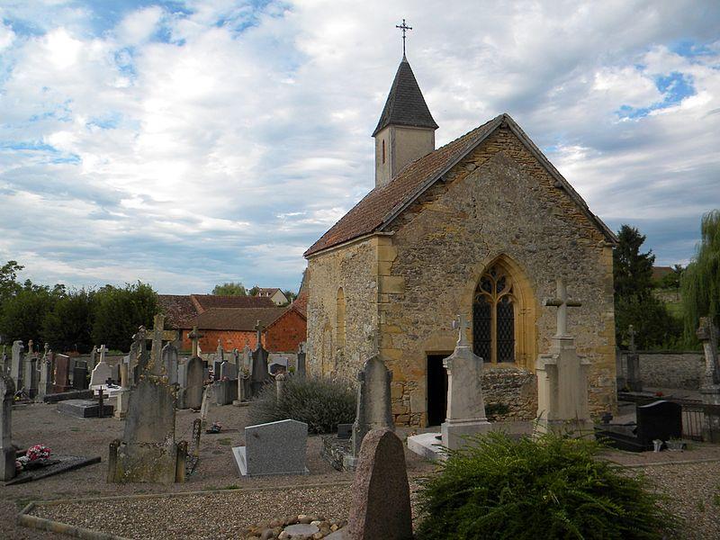 Photo du Monument Historique Chapelle du cimetière situé à Amanzé
