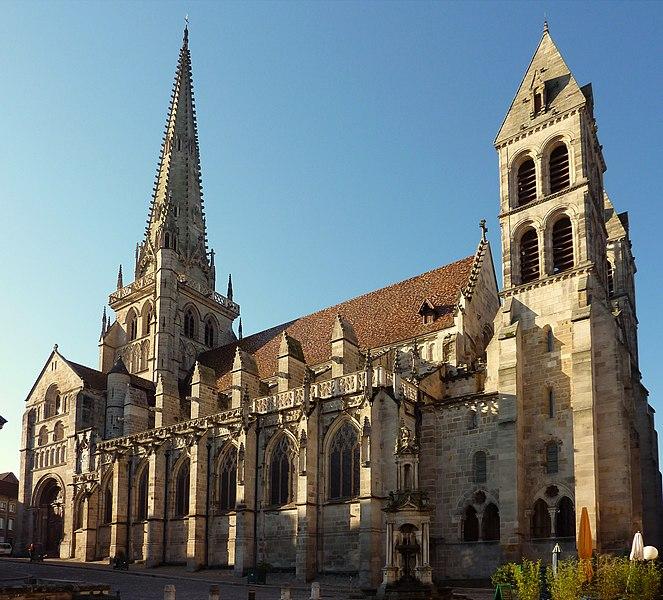 Photo du Monument Historique Cathédrale Saint-Lazare situé à Autun