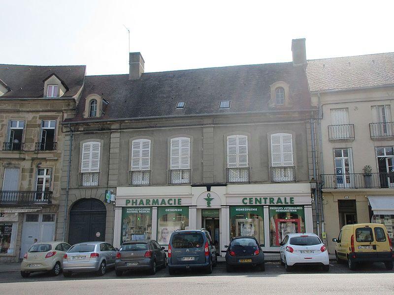 Photo du Monument Historique Immeuble ou Hôtel d'Orsenne situé à Autun