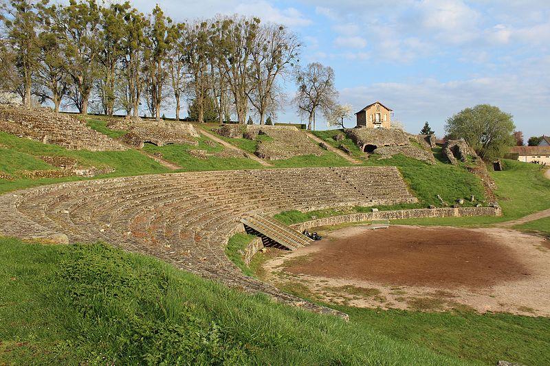 Photo du Monument Historique Théatre romain situé à Autun