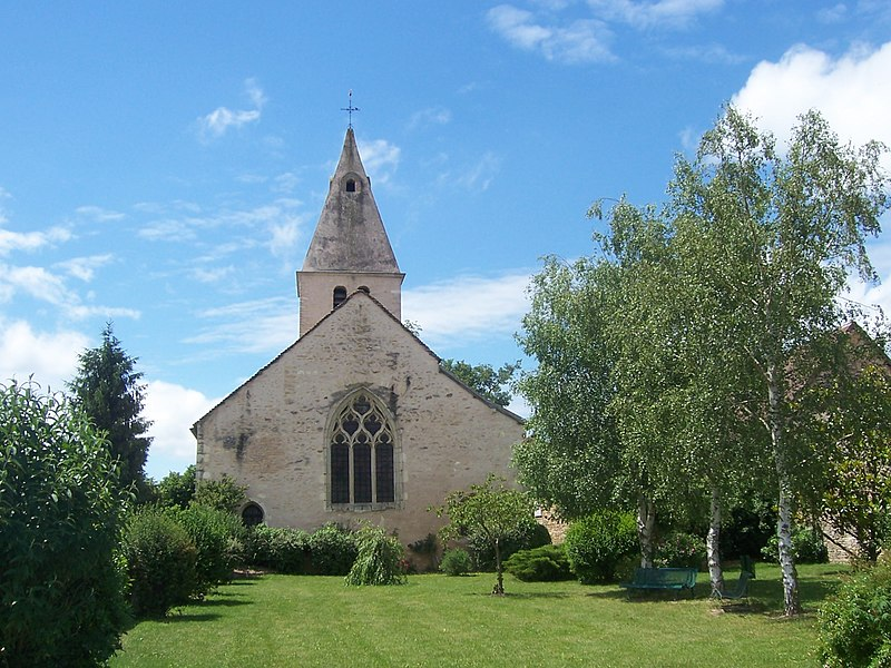 Photo du Monument Historique Eglise de l'Assomption situé à Beaumont-sur-Grosne