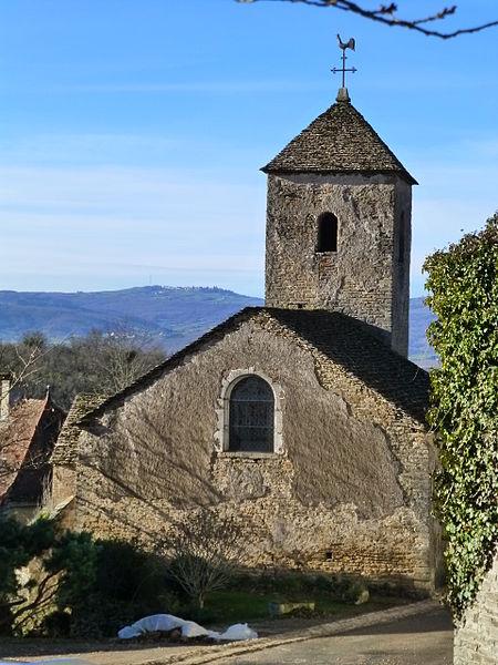 Photo du Monument Historique Eglise situé à Bissy-sur-Fley