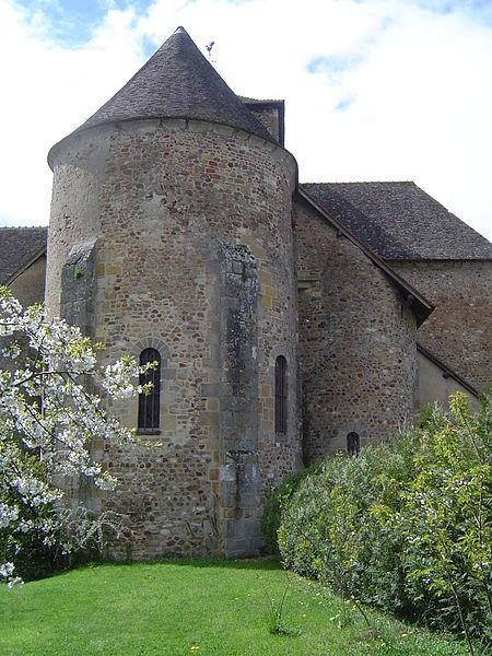 Photo du Monument Historique Eglise Saint-Nazaire situé à Bourbon-Lancy
